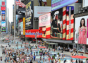 © licensed to London News Pictures. New York, USA  28/05/11.  Times Square. Photo credit should read Stephen Simpson/LNP