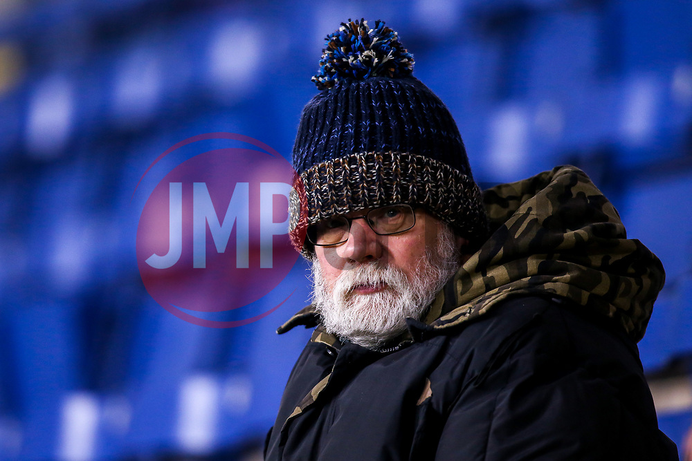 A Burnley fan looks on ahead of his team's Premier League fixture against Newcastle United - Mandatory by-line: Robbie Stephenson/JMP - 26/11/2018 - FOOTBALL - Turf Moor - Burnley, England - Burnley v Newcastle United - Premier League