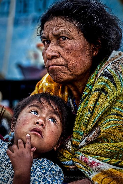 Mayas mam. Pavencúl, Mexico.