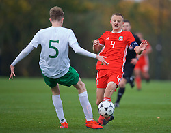 WREXHAM, WALES - Wednesday, October 30, 2019: Wales' captain Zak Williams during the 2019 Victory Shield match between Wales and Republic of Ireland at Colliers Park. (Pic by David Rawcliffe/Propaganda)