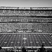 A black and white iPhone, Hipstamatic, general view of MetLife Stadium during the New York Jets V New England Patriots NFL regular season game at MetLife Stadium, East Rutherford, NJ, USA. 20th October 2013. Photo Tim Clayton