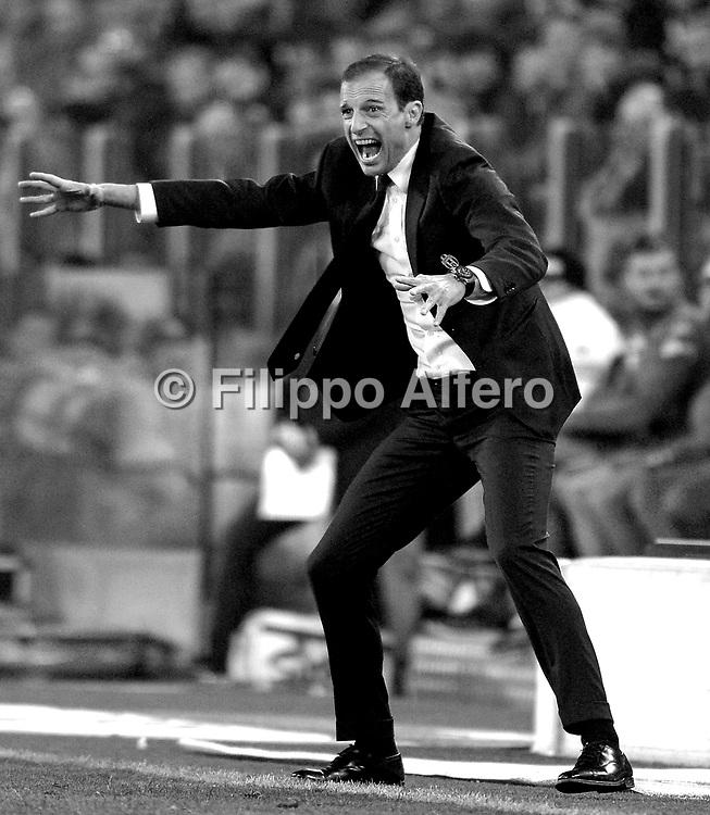 &copy; Filippo Alfero<br /> Juventus-Napoli, Serie A 2016/2017<br /> Torino, 29/10/2016<br /> sport calcio<br /> Nella foto: Massimiliano Allegri