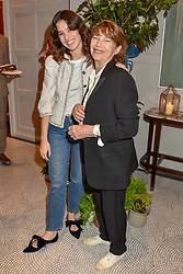 Left to right, Gala Gordon and Jane Birkin at the Belmond Cadogan Hotel Grand Opening, Sloane Street, London England. 16 May 2019. <br /> <br /> ***For fees please contact us prior to publication***