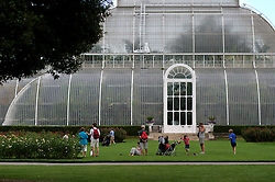 UK ENGLAND KEW 20AUG04 - Palm House at the Royal Botanical Gardens, Kew. The Royal Botanical Gardens have been awarded World Heritage Site status by the UNESCO World Heritage Centre in Paris, as an internationally unique cultural landscape...jre/Photo by Jiri Rezac ..© Jiri Rezac 2004..Contact: +44 (0) 7050 110 417.Mobile: +44 (0) 7801 337 683.Office: +44 (0) 20 8968 9635..Email: jiri@jirirezac.com.Web: www.jirirezac.com..© All images Jiri Rezac 2004 - All rights reserved.