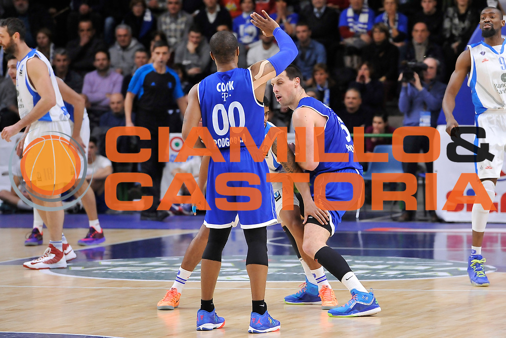 DESCRIZIONE : Eurocup 2014/15 Last 32 Gruppo H Dinamo Banco di Sardegna Sassari - Buducnost VOLI Podgorica<br /> GIOCATORE : Omar Cook<br /> CATEGORIA : Palleggio Schema Mani Blocco Controcampo<br /> SQUADRA : Buducnost VOLI Podgorica<br /> EVENTO : Eurocup 2014/2015<br /> GARA : Dinamo Banco di Sardegna Sassari - Buducnost VOLI Podgorica<br /> DATA : 28/01/2015<br /> SPORT : Pallacanestro <br /> AUTORE : Agenzia Ciamillo-Castoria / Luigi Canu<br /> Galleria : Eurocup 2014/2015<br /> Fotonotizia : Eurocup 2014/15 Last 32 Gruppo H Dinamo Banco di Sardegna Sassari - Buducnost VOLI Podgorica<br /> Predefinita :