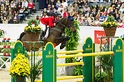 Christine McCrea - Romantovich Take One<br /> Rolex FEI World Cup Final 2013<br /> © DigiShots