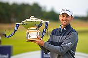 Bernd Wiesberger (AUT) winner of the Aberdeen Standard Investments Scottish Open at The Renaissance Club, North Berwick, Scotland on 14 July 2019.