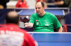 Bojan Lukezic of Slovenia in action during 15th Slovenia Open - Thermana Lasko 2018 Table Tennis for the Disabled, on May 9, 2018, in Dvorana Tri Lilije, Lasko, Slovenia. Photo by Vid Ponikvar / Sportida