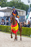 Maya de la Joya Fernandez Longoria - Un Lord Du Rozel<br /> FEI European Championships 2019<br /> © DigiShots