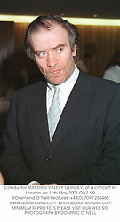 Conductor MAESTRO VALERY GERGIEV, at a concert in London on 11th May 2001.ONZ  99