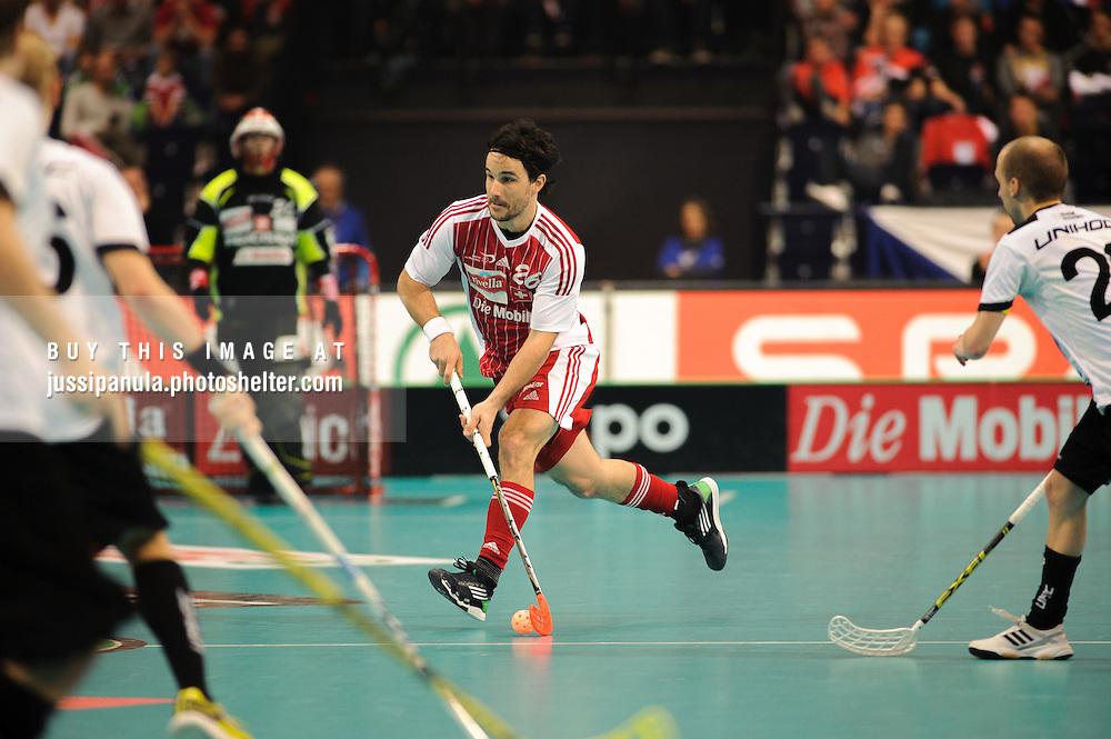 WFC World Floorball Championships 2012: Switzerland vs. Germany, 2012/12/9, Hallenstadion, Zürich, Switzerland