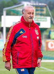 24.05.2012, Sportplatz Golm FC Schruns, Schruns, AUT, UEFA EURO 2012, Trainingslager, Spanien, im Bild Vicente del Bosque Cheftrainer (ESP) // Vicente del Bosque Headcoach of Spain during of Spanish National Footballteam for preparation UEFA EURO 2012 at Sportplatz Golm FC Schruns, Schruns, Austria on 20120524. EXPA Pictures © 2012, PhotoCredit EXPA/ Peter Rinderer