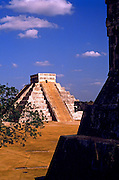 Image of El Castillo at Chichen Itza on the Yucatan Peninsula in Mexico