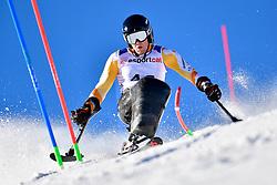 de LANGEN Niels, LW12-2, NED, Slalom at the WPAS_2019 Alpine Skiing World Cup, La Molina, Spain
