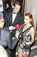 Una Healy & Ben Foden, Attitude Magazine Awards 2013, Royal Courts of Justice, London UK, 15 October 2013, (Photo by Brett D. Cove)