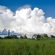 Abandoned Hacienda. Izamal, Yucatan. Mexico.