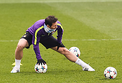 Manchester City's Frank Lampard is pictured during the training session at the Etihad Campus ahead of the UEFA Champions League second leg match against FC Barcelona - Photo mandatory by-line: Matt McNulty/JMP - Mobile: 07966 386802 - 17/03/2015 - SPORT - Football - Manchester - Etihad Campus - Barcelona v Manchester City - UEFA Champions League