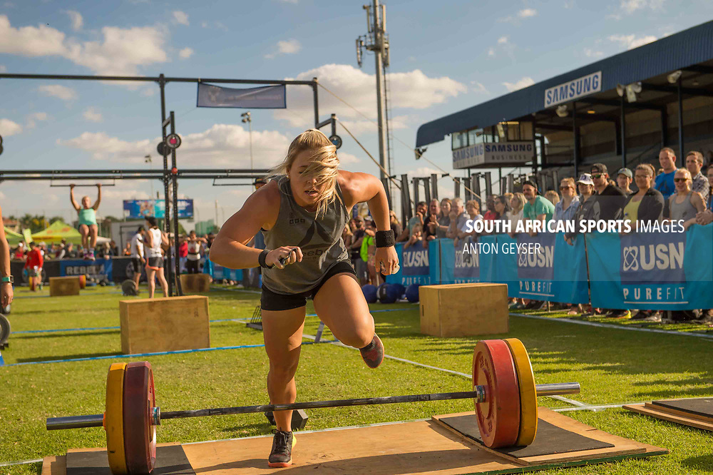 PRETORIA, SOUTH AFRICA - APRIL 29:  during the women's WOD 5 at the Pretoria Throw Down in Waterkloof High School on April 29, 2017 in Pretoria, South Africa. (Photo by Anton Geyser/Gallo Images)