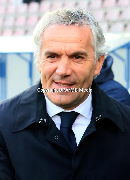 Italian League Serie A -2016-2017 / <br /> ( Bologna Fc 1909 ) - <br /> Roberto Donadoni - DT Bologna Fc 1909