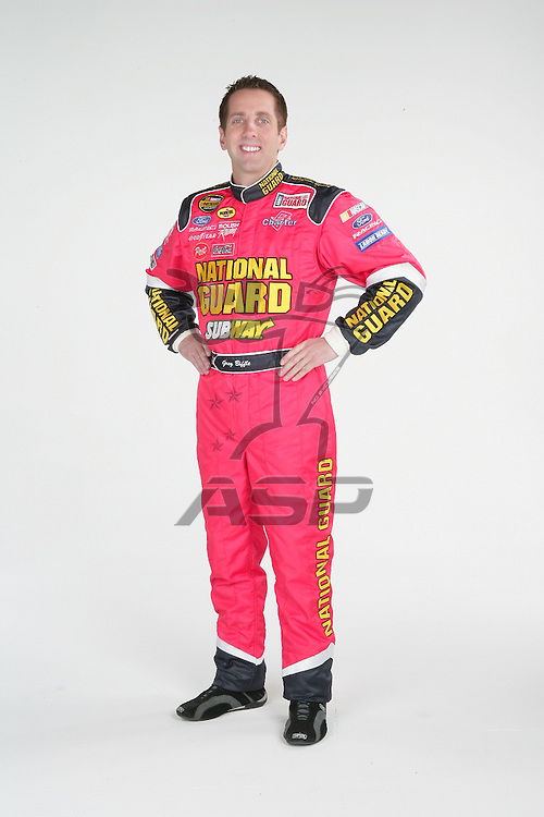 Concord, NC - Dec 09, 2005:  The No 16 National Guard Ford Fusion is photographed at D3 Studios in Concord, NC.