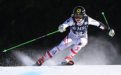 27.01.2018, Lenzerheide, SUI, FIS Weltcup Ski Alpin, Lenzerheide, Riesenslalom, Damen, im Bild Stephanie Resch (AUT) // Stephanie Resch of Austria in action during the ladie's Giant Slalom of FIS ski alpine world cup in Lenzerheide, Austria on 2018/01/27. EXPA Pictures © 2018, PhotoCredit: EXPA/ Sammy Minkoff<br /> <br /> *****ATTENTION - OUT of GER*****