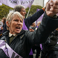 Women rally against State Pension inequality