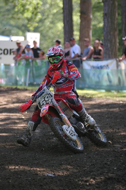 Grand Prix of Belgium - GP Namur 2007.Courses du dimanche / 1ere manche MX2.MX2 heat 1.