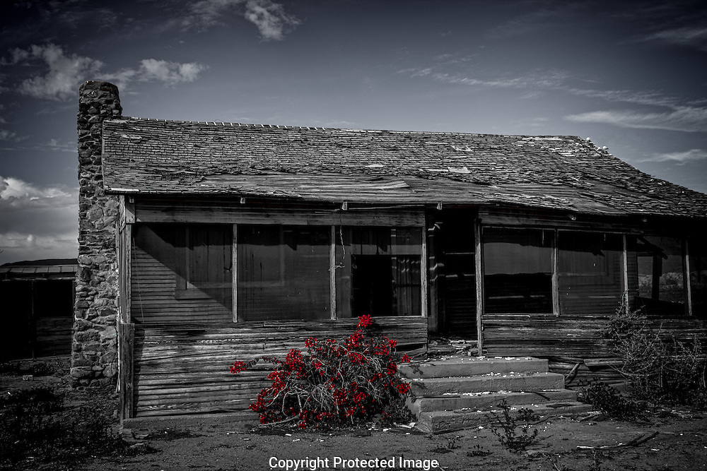 Home Sweet Home, deserted home near Bard, California