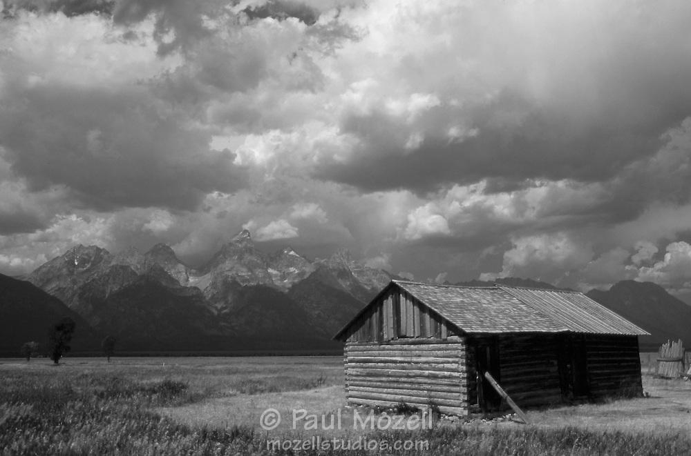 Historic cabin in Grand Teton National Park