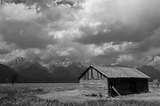 Historic cabin in Grand Teton National Park