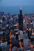 Willis Tower (formerly Sears Tower), Downtown Chicago