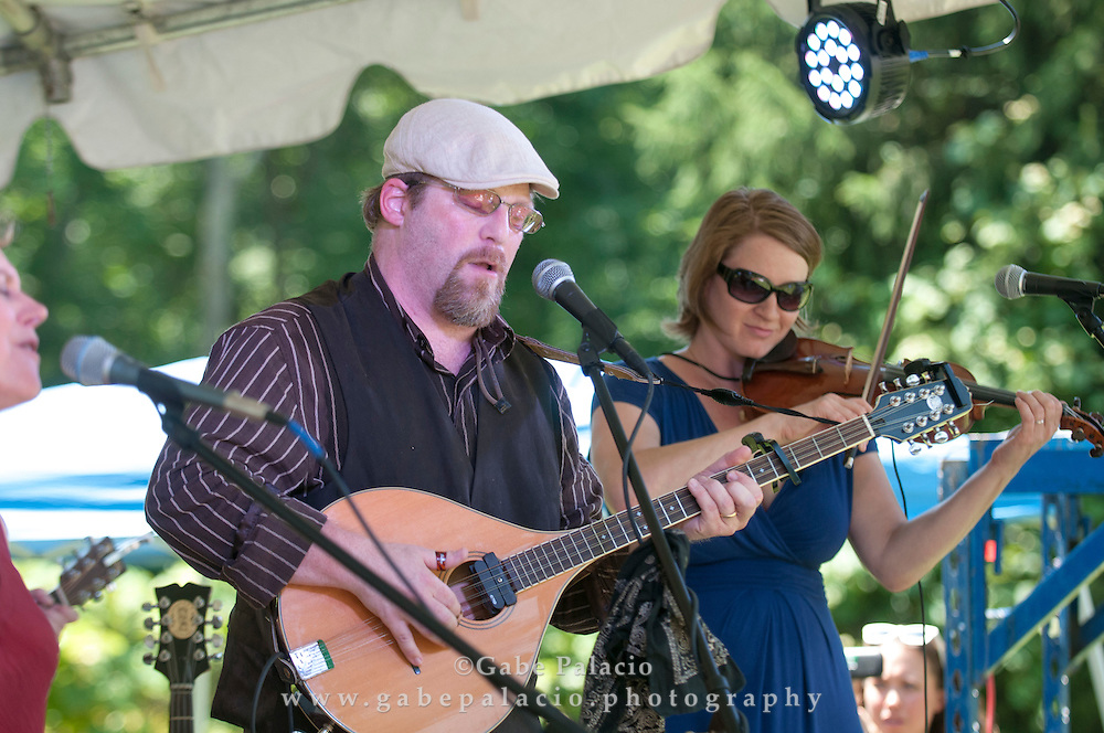 Audience for the American Roots Music Festival at Caramoor in Katonah New York.photo by Gabe Palacio