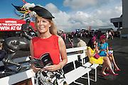 31/07/2015 Fashionista Marietta Doran judging the My Fair Lady Fashion Competition.  Photo: Andrew  Downes xposure