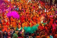 India-Uttar Pradesh-Holi-Lathmar Holi-Nandgaon