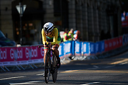 Akvile Gedraityte (LTU) at UCI Road World Championships 2019 Junior Women's TT a 13.7 km individual time trial in Harrogate, United Kingdom on September 23, 2019. Photo by Sean Robinson/velofocus.com