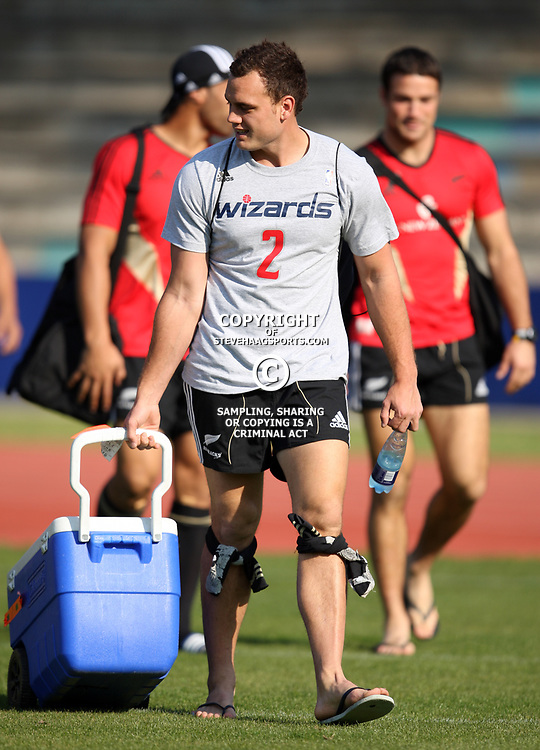 PORT ELIZABETH, SOUTH AFRICA - AUGUST 18, Israel Dagg during the New Zealand national rugby team training session at Xerox Arena on August 18, 2011 in Port Elizabeth, South Africa<br /> Photo by Steve Haag / Gallo Images
