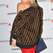 Tallia Storm attend Huawei - VIP celebration at One Marylebone London, UK. 16 October 2018.