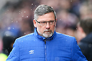 Heart of Midlothian manager Craig Levein ahead of the William Hill Scottish Cup 4th round match between Heart of Midlothian and Hibernian at Tynecastle Stadium, Gorgie, Scotland on 21 January 2018. Photo by Craig Doyle.