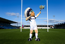 Big Chief in the Exeter Chiefs Foundation shirt - Rogan/JMP - 08/11/2019 - RUGBY UNION - Sandy Park - Exeter, England - Gallagher Premiership.