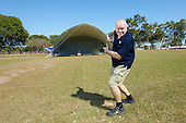 Colin West Big Tent Darwin. Photo Shane Eecen