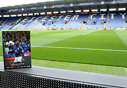 The match day programme at the King Power Stadium - Photo mandatory by-line: Robbie Stephenson/JMP - Mobile: 07966 386802 - 09/05/2015 - SPORT - Football - Leicester - King Power Stadium - Leicester City v Southampton - Barclays Premier League