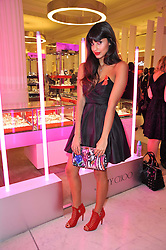 Jameela Jamil at the launch of Project PEP to benefit the Elton John Aids Foundation hosted by Tamara Mellon and Diana Jenkins in association with Jimmy Choo held at Selfridges, Oxford Street, London on 29th October 2009.