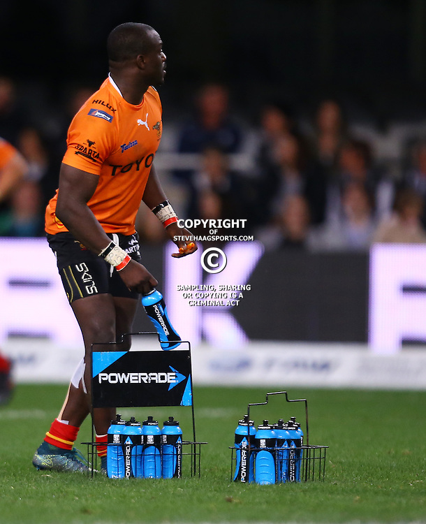 DURBAN, SOUTH AFRICA - SEPTEMBER 10: Raymond Rhule of the Toyota Free State Cheetahs during the Currie Cup match between the Cell C Sharks and Toyota Cheetahs at Growthpoint Kings Park on September 10, 2016 in Durban, South Africa. (Photo by Steve Haag/Gallo Images)