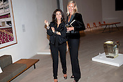 JULIA AZMOUDEH; EMMA FARAH, Maggie's autumn fundraiser in aid of the Cancer charity. .  Phillips de Pury & Company, 9 Howick Place, London <br /> www.maggiescentres.org. 27 September 2010. <br /> <br /> -DO NOT ARCHIVE-© Copyright Photograph by Dafydd Jones. 248 Clapham Rd. London SW9 0PZ. Tel 0207 820 0771. www.dafjones.com.