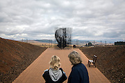 The Nelson Mandela memorial in Howick, South Africa. It was here on 5 August 1962 that Nelson Mandela was captured by the police.