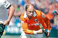 BLOEMENDAAL - HOCKEY - Teun de Nooijer tijdens de play offs hoofdklasse hockeywedstrijd tussen de mannen van Bloemendaal en Rotterdam (1-4) . Rotterdam door naar de finale. FOTO KOEN SUYK