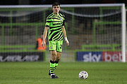 Forest Green Rovers Liam Kitching(20) during the The FA Cup match between Forest Green Rovers and Carlisle United at the New Lawn, Forest Green, United Kingdom on 30 November 2019.