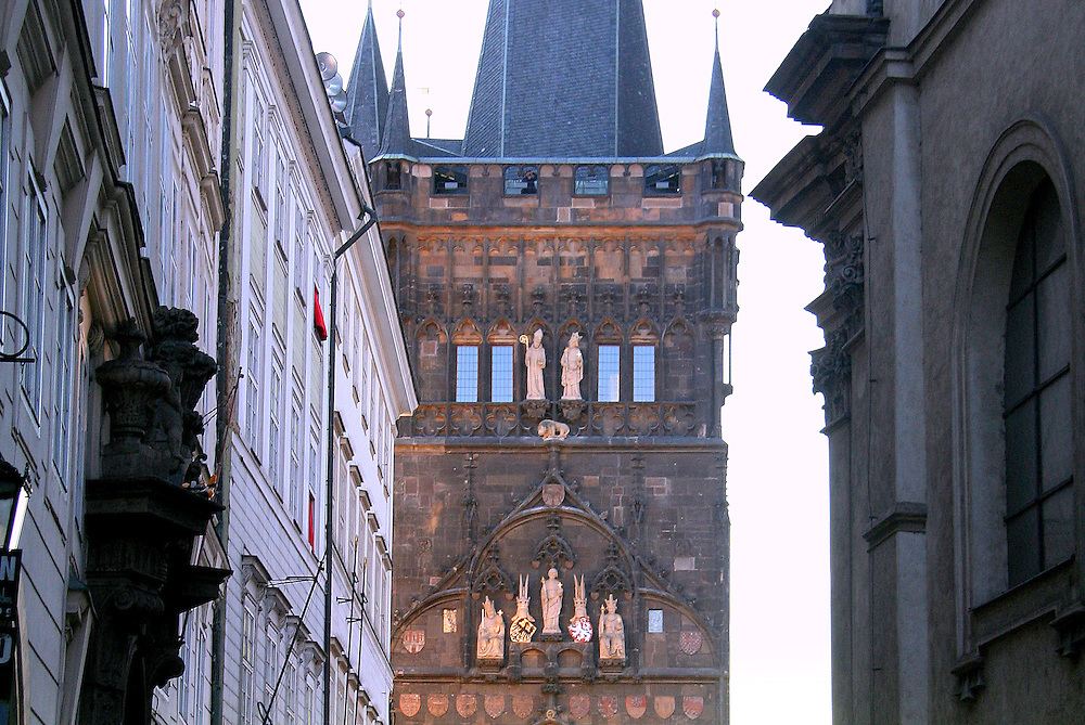 Old Town Bridge Tower (Staroměstská Mostecká Věž), Prague, Czech Republic