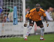 15-07-2008 VOETBAL:CSKA SOFIA - WILLEM II:TILBURG<br /> Doelman Daniel Bekono uit Kameroen<br /> Foto: Geert van Erven