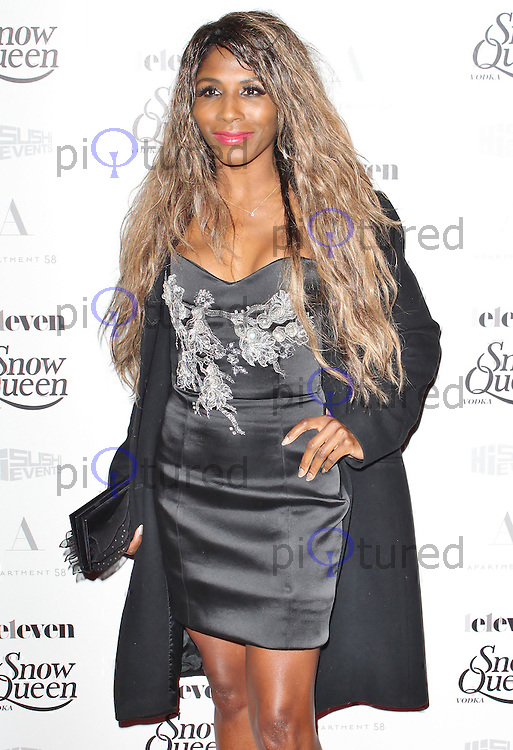 LONDON - December 18: Sinitta at the Snow Queen Vodka 2013 - Calendar Launch Party (Photo by Brett D. Cove)